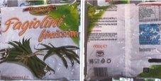 Immagine Ritirati i fagiolini surgelati: erba velenosa nella busta