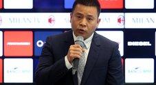 Milan, Yonghong Li indagato a Milano per falso in bilancio