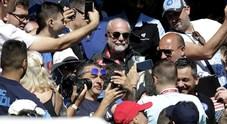 De Laurentiis chiude a Benzema: «Cavani al Napoli? No, non credo»