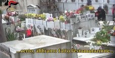 Immagine Il cimitero degli orrori: salme distrutte per i loculi