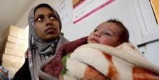 Immagine 15 bambini morti di freddo nei campi profughi in Siria