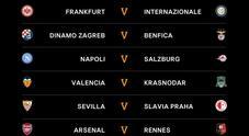 L'urna di Europa League è benevola: il Napoli pesca il Salisburgo