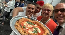 Napoli show al Fancy Food di New York: Lidia Bastianich col dream team Caputo