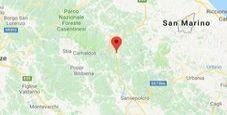 Immagine Terremoto all'alba su Appennino romagnolo