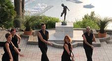 Capri, a Villa Lysis va in scena il mito con gli Anima Nuda Video