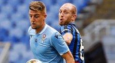 Live Lazio-Atalanta 3-3: Immobile pareggia i conti