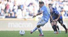 Lazio-Atalanta, pari e spettacolo: Immobile firma il 3-3 nel recupero
