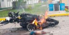 Immagine Autobomba a Bogotà, cinque morti e dieci feriti