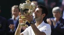 Djokovic conquista Wimbledon per la quarta volta: battuto Anderson in 3 set