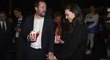 Salvini, prima uscita pubblica con la nuova fidanzata Francesca Verdini: al cinema per Dumbo