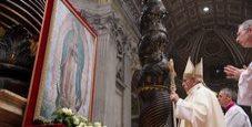 Immagine Il Papa e l'atto d'omaggio alla Madonna degli Indios