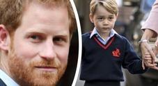 Harry e baby George, perché zio e nipote non hanno nessuna foto insieme? Ecco la verità