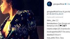 Giorgia supersexy su Instagram: e i fan apprezzano