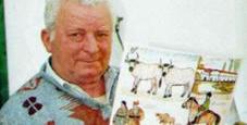 Immagine Pacciani, alt dell'ospedale alla mostra con sue opere