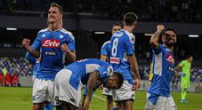 Il Napoli ritrova Milik e la vittoria: doppietta e Verona al tappeto 2-0