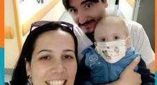 Napoli, Gabry «little hero» trova donatore: «Il nostro uno su centomila»