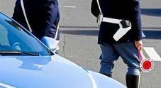 Imbocca contromano l'A30, patente ritirata e auto sequestrata