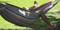 Immagine Turista dorme sull'amaca multa da 300 euro a Trieste