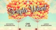 Napoli, a Donnaregina l'evento «Scripta volant» tra leggende e palloncini