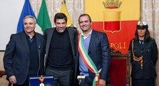 Gassmann è cittadino napoletano «Città oggi epicentro della cultura»
