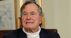 George Bush in ospedale: è in terapia intensiva