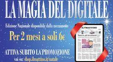 Il Mattino Digital sotto l'albero di Natale: due mesi a soli 6 euro
