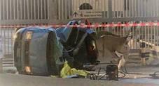 Salerno, la tragedia di San Matteo: auto fuori strada, un morto e 4 feriti