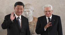 Mattarella a Xi: «Dialogo sui diritti, Via della Seta strada a doppio senso»
