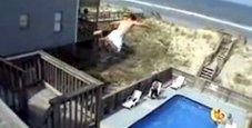 Immagine Precipita da balcone hotel: «Ringhiere troppo basse»