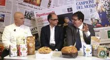 I dolci delle feste con Antimo Caputo e Salvatore Gabbiano della pasticceria Il Gabbiano di Pompei