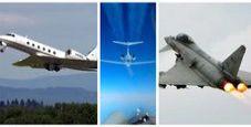 Immagine Superjet executive intercettato in scramble