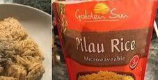 Immagine Compra un pacchetto di riso e trova topo morto