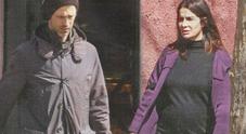 Kim Rossi Stuart e Ilaria Spada incinta col pancione, shopping per il piccolo in arrivo