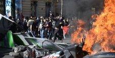 Immagine Parigi, guerriglia al corteo tra black bloc e polizia