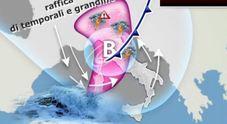 Meteo, addio al caldo africano: nel week end arrivano i temporali