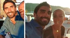 Filippo Magnini e Giorgia Palmas, romantico aperitivo al tramonto con selfie