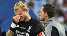 Liverpool, Karius fa mea culpa: «Vorrei solo tornare indietro nel tempo»