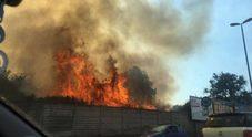 Napoli: incendi a Monte Sant'Angelo e Ischia, fiamme alimentate dal vento