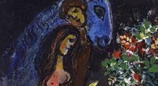 Le figure di Chagall e Pignon-Ernest nel ventre di Napoli