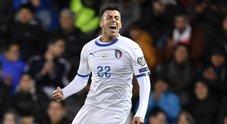 L'Italia travolge il Liechtenstein 5-0, per Mancini la nona vittoria di fila