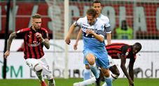 Milan-Lazio 0-0 La Diretta Bastos sfiora il vantaggio