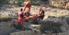Immagine Salento, salva ragazzina incastrata nella grotta