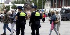 Immagine Poliziotto accoltellato nel centro di Bruxelles