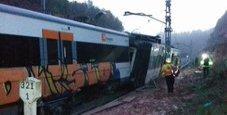 Immagine Barcellona, deraglia treno: un morto e decine di feriti