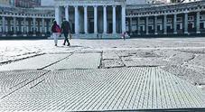 Napoli, cantiere chiuso al Plebiscito e operai a casa: la rivolta delle imprese