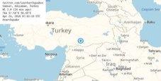 Immagine Terremoto in Turchia: 13 feriti, edifici danneggiati
