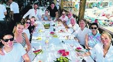 Costiera tra cibo e mare: Paul McCartney fa incetta di prodotti tipici