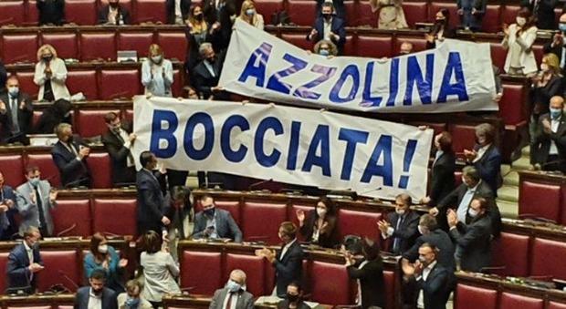 Azzolina Proteste
