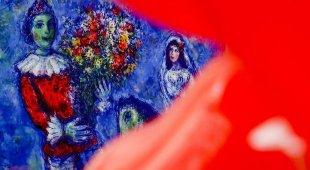 Chagall sogno d'amore, a Napoli con una «dream room»