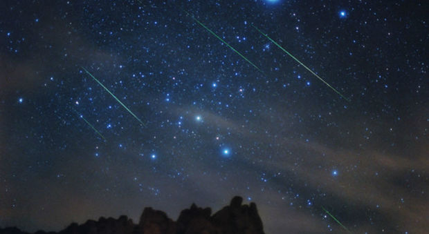 Orionidi in arrivo, il grande spettacolo delle stelle cadenti di ottobre | Video